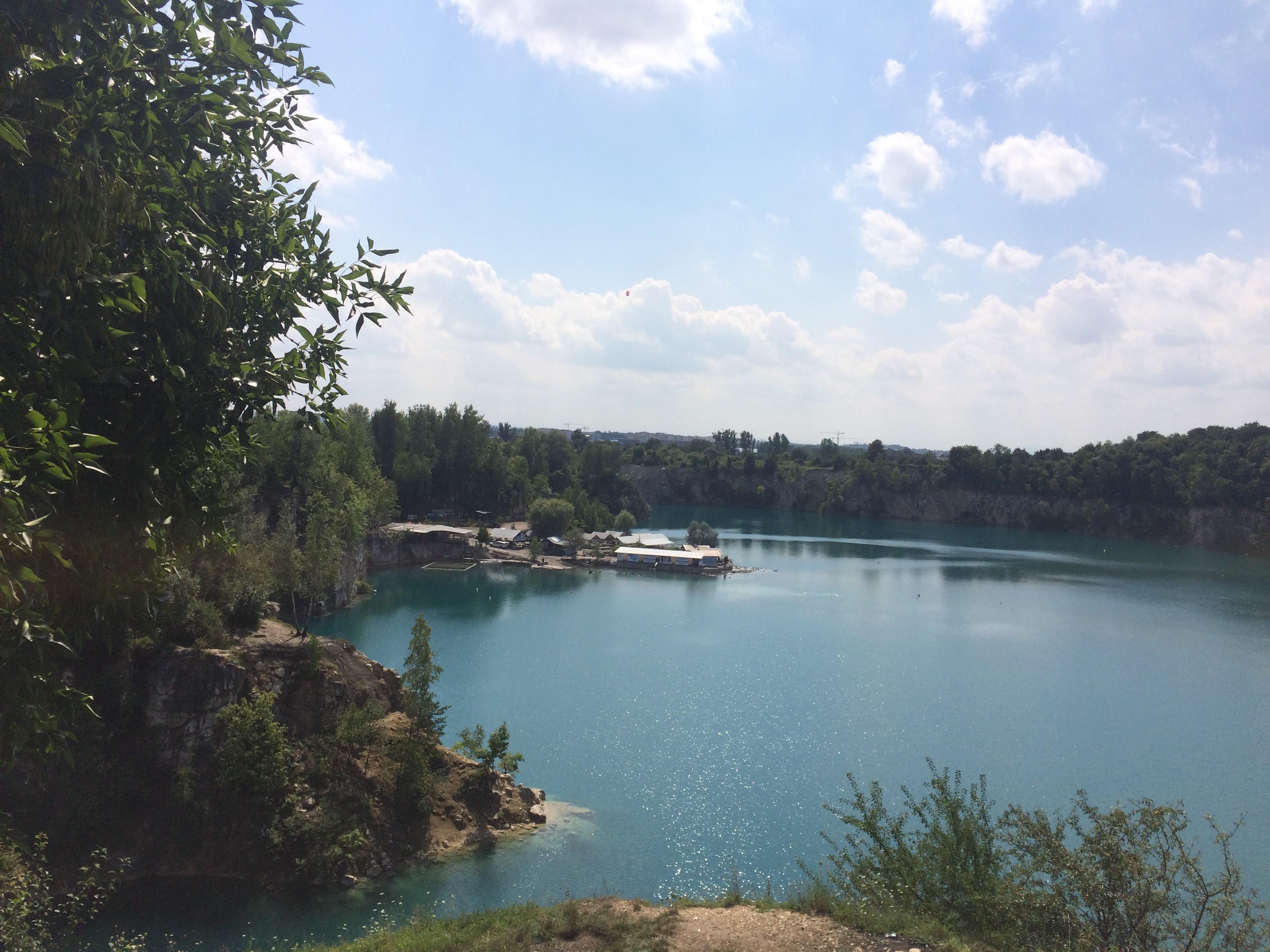 The hidden lake Zarókzwek