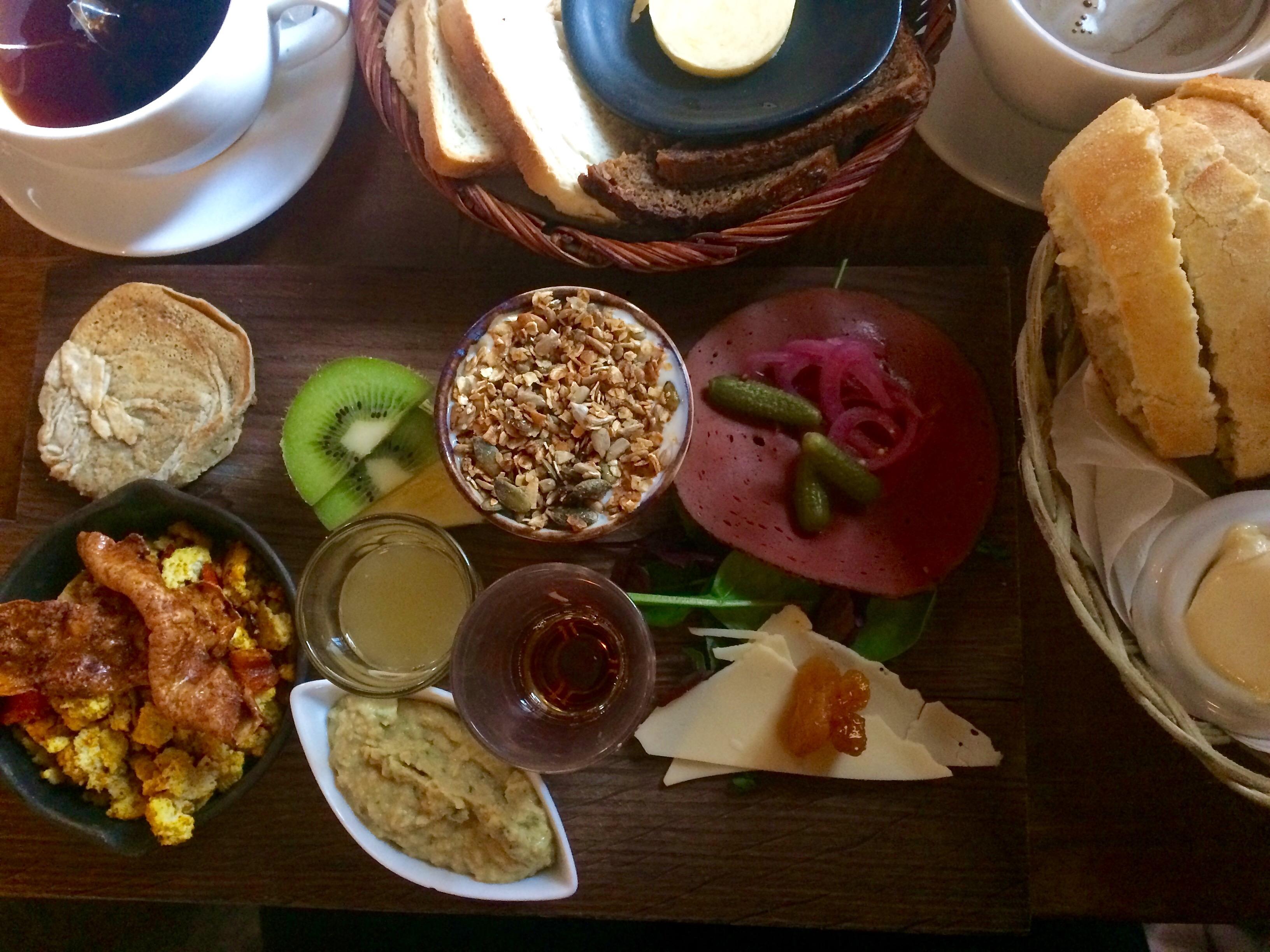 Vegan brunch at Cafe Luna